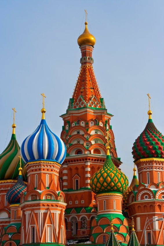 Cathedral on the Red Square, Moscow