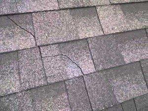 cracked shingles