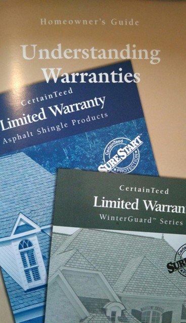 Lifetime Shingles Warranty